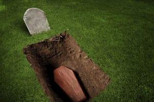 Копка могилы